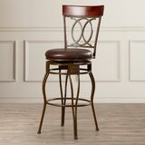 Schaumburg Bar & Counter Swivel Stool by Darby Home Co