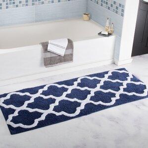 Gard Trellis Cotton Bath Mat
