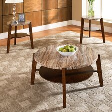 Tivoli 3 Piece Coffee Table Set by Steve Silver Furniture