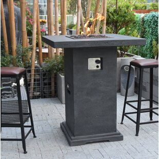 Triston Bar Concrete Propane Fire Pit Table By Sol 72 Outdoor