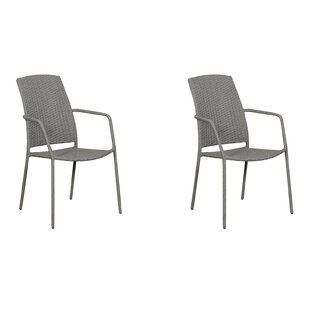 Marx Stacking Garden Chair (Set Of 2) By Sol 72 Outdoor
