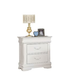 Great Price Saffold 2 Drawer Nightstand By Harriet Bee
