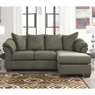 Captivating Sage Green Sectional Sofas | Wayfair