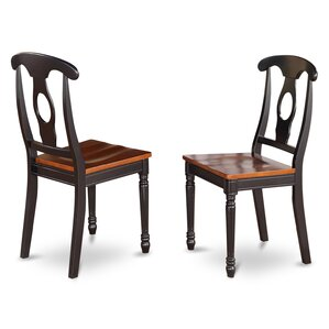 Aimee Side Chair in Wood Seat (Set of 2) by August Grove