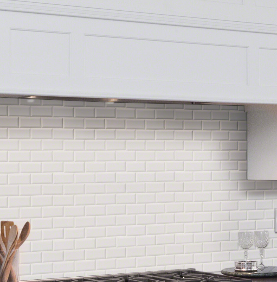 Msi Capella 2 33 X 10 Porcelain Field Tile In Off White: Porcelain Subway Tile