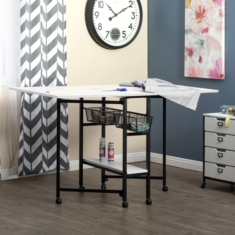 Sew Ready Standing Height Craft Table Reviews Wayfair