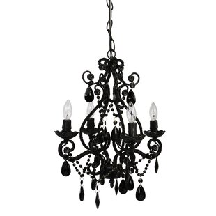 Caden 4-Light Candle Style Chandelier byViv + Rae