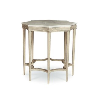 Carrie Accent End Table by One Allium Way