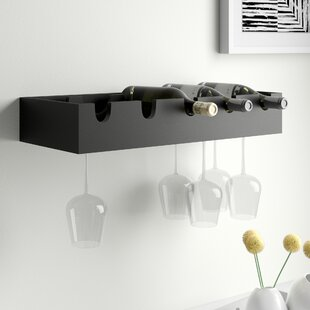 Kittleson 5 Bottle Wall Mounted Wine Rack by Zipcode Design
