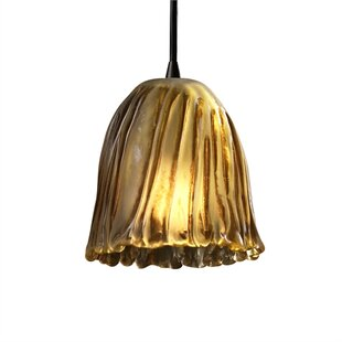 Darby Home Co Devita 1-Light Bell Pendant