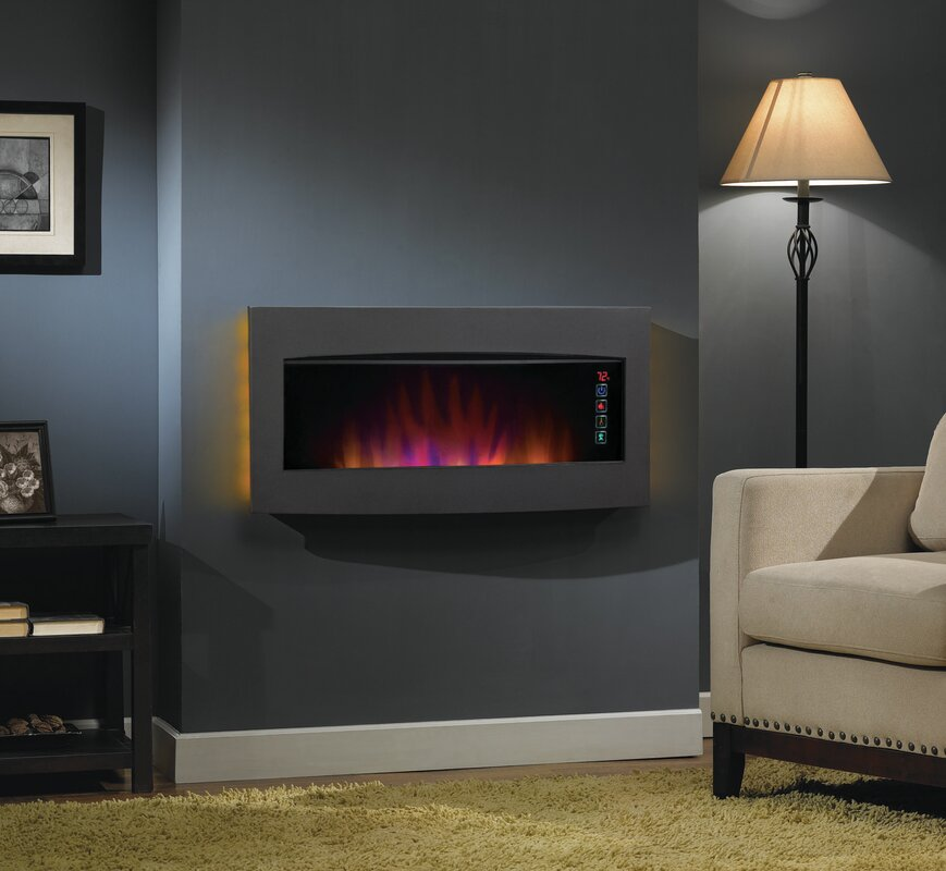Classic Flame Serendipity Wall Mount Electric Fireplace & Reviews ...