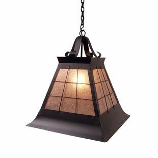 Steel Partners Top Ridge 1-Light Dome Pendant