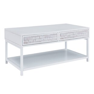 Erickson Coffee Table with Storage by Rosecliff Heights