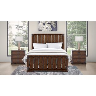 Dussault Platform Solid Wood 3 Piece Bedroom Set
