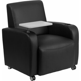 Best Reviews Whicker Leather Guest Chair by Orren Ellis Reviews (2019) & Buyer's Guide