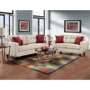 Castiglia Tufted 2 Piece Living Room Set ByEbern Designs