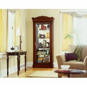 Embassy Lighted Curio Cabinet by Howard Miller®