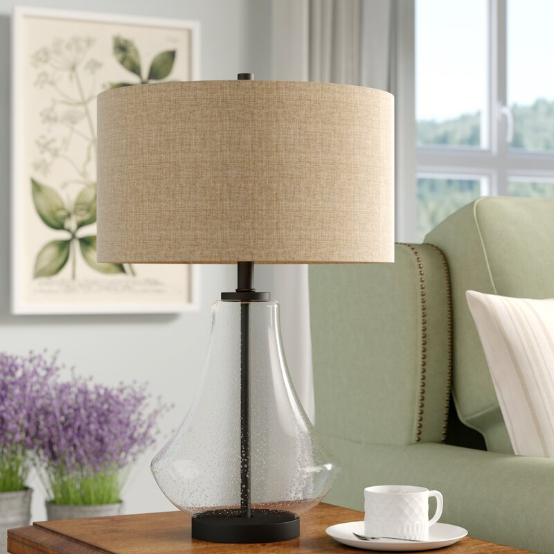 Proto Seeded 23in. Table Lamp