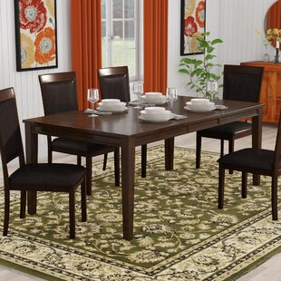 Three Posts Burgher Extendable Dining Table