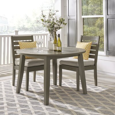 Hursey Wooden Dining Table by Three Posts Purchase