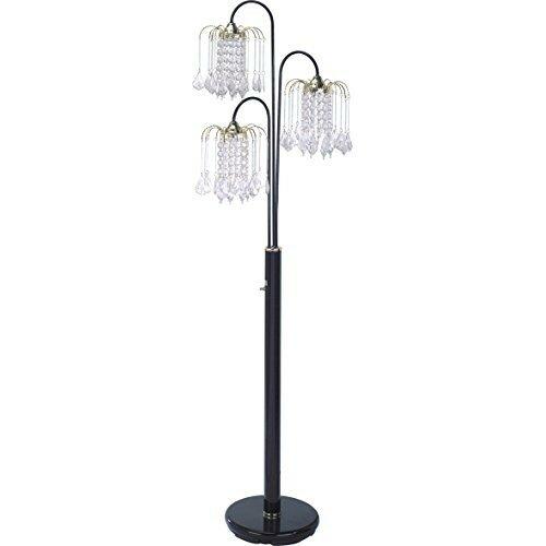 Major q faux crystal 63 candelabra floor lamp reviews wayfair aloadofball Images