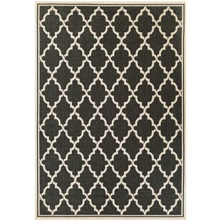Barrow Black/Sand Indoor/Outdoor Area Rug