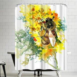 Suren Nersisyan Bee Single Shower Curtain