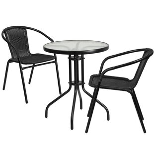 Breakwater Bay Whitney 3 Piece Bistro Set