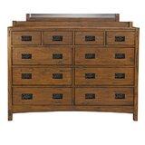 Castro 10 Drawer Double Dresser