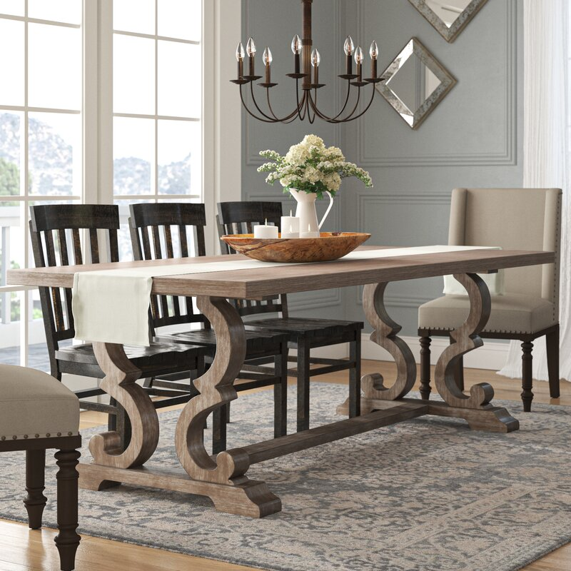 One Allium Way Annora Extendable Dining Table Reviews Wayfair