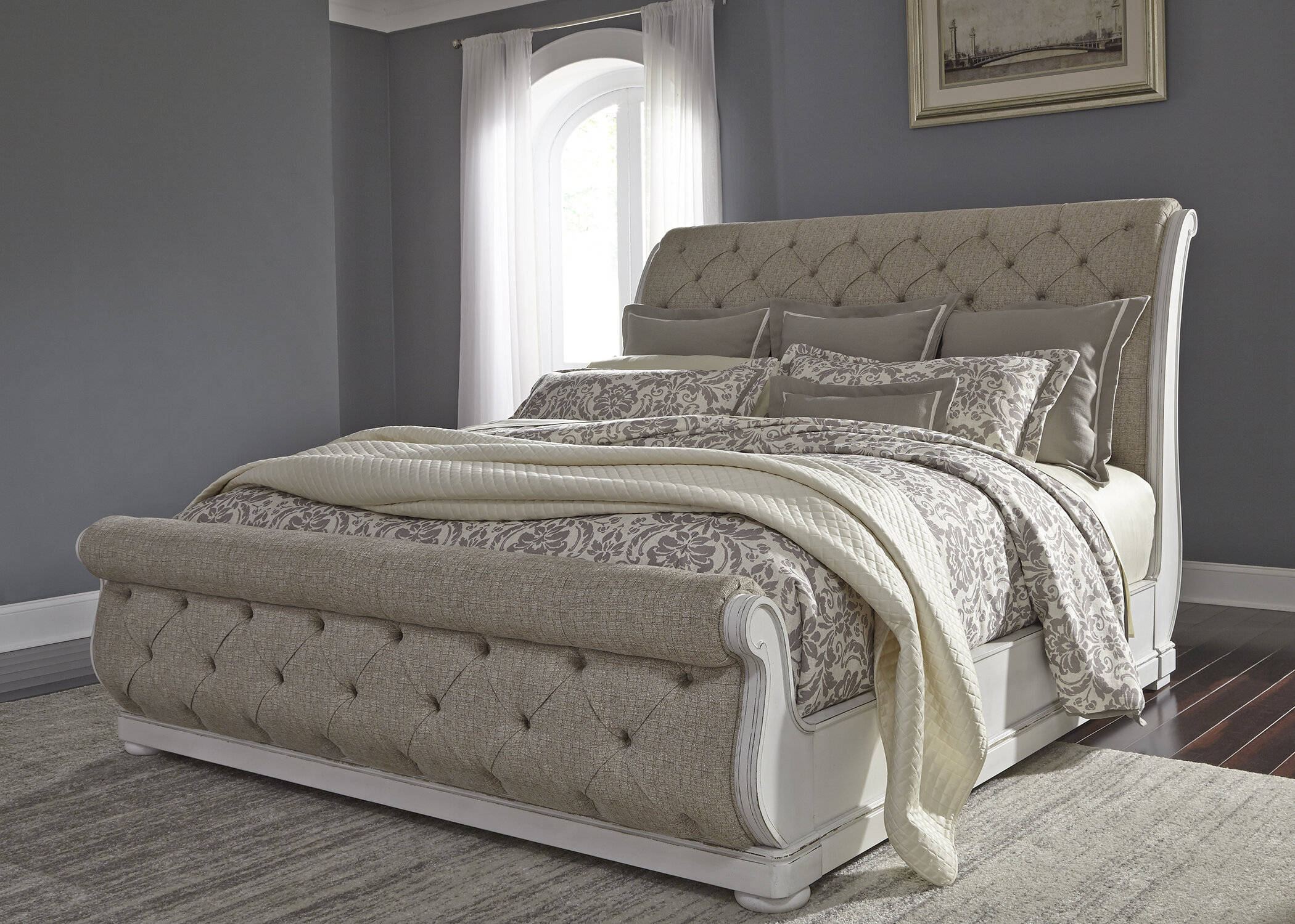 - Ophelia & Co. Ginyard Upholstered Sleigh Bed & Reviews Wayfair