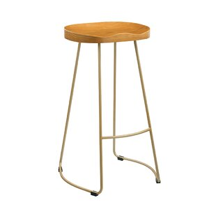 Aron 76cm Bar Stool By Borough Wharf