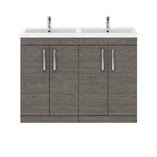 Maddalena 1205mm Free-Standing Vanity Unit By Zipcode Design