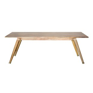 Millwood Pines Luz Solid Wood Dining Table