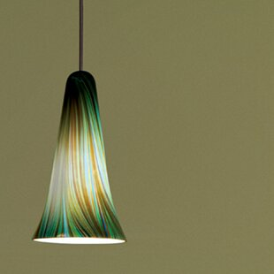 WAC Lighting Zanzibar 1-Light Cone Pendant