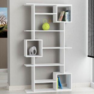 Hillary Modern Geometric Bookcase