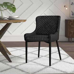 Dupont Upholstered Dining Chair (Set of 2) Mercury Row