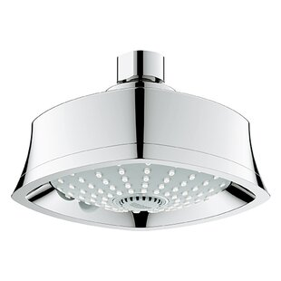Price comparison Grandera Multi Function Adjustable Shower Head with SpeedClean Nozzles ByGrohe