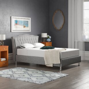 Upholstered Bed Frame By Willa Arlo Interiors