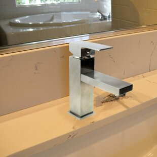 KEE Single Hole Bathroom Faucet with Drain Assembly