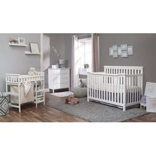 Palisades 4-in-1 Convertible 3 Piece Crib Set By Sorelle
