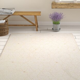 Shop Clearman Modern White/Dark Brown Area Rug By Gracie Oaks