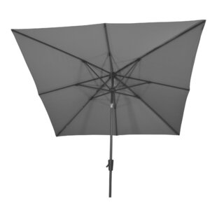 Libra 2.5m Square Traditional Parasol By Lesli Living