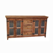 4 Door Storage / Display Cabinet by Yosemite Home Decor