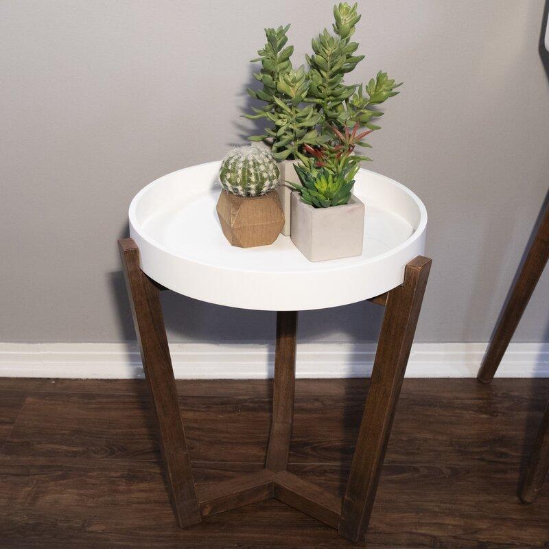 Wrought Studio Lowndesboro End Table Reviews Wayfair