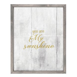 Delicieux You Are My Sunshine Wall Art | Wayfair