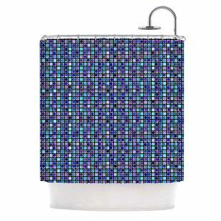 'Mozaik' Single Shower Curtain