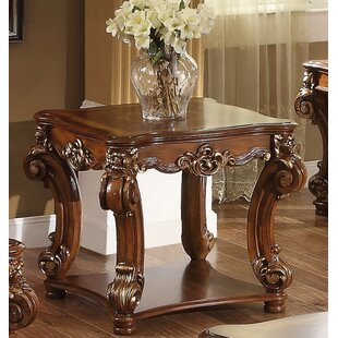 Esmeralda End Table by Astoria Grand