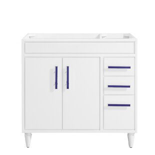Layla 36 Single Bathroom Vanity Base by Avanity