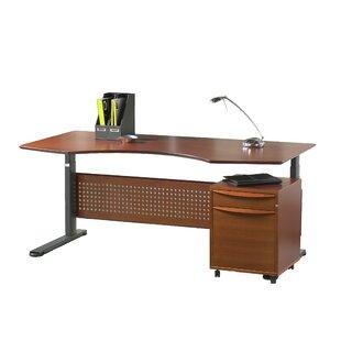 Haaken Furniture Sit-Stand Series Computer Desk
